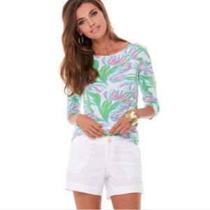 Lilly Pulitzer Ring the Bellboy top, small